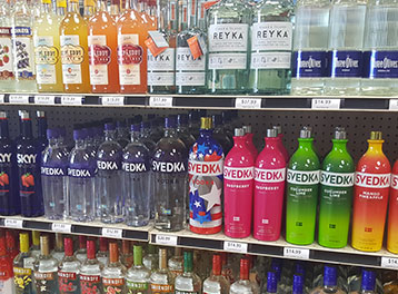 Large Liquor Selection